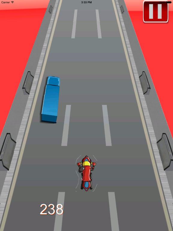 Amazing Night Motorcycle - Bike Game screenshot 10