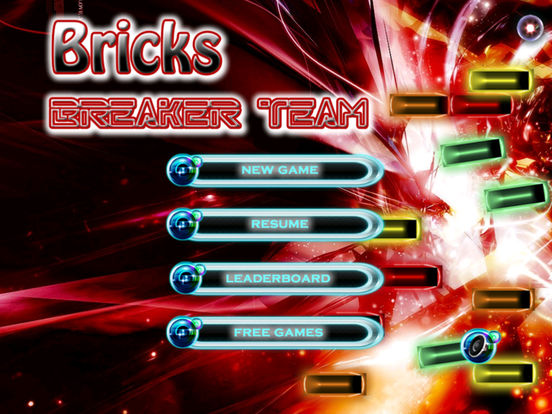 Bricks Breaker Team - Action Game screenshot 6