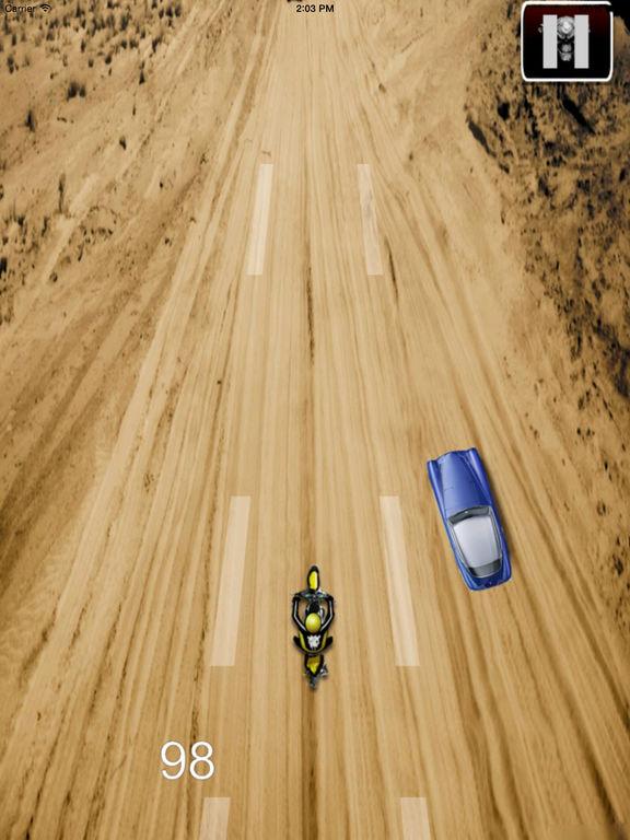 Amazing Desert Motocross - Baron Bike Racing screenshot 10