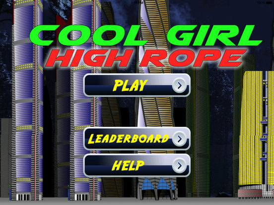 Cool Girl High Rope PRO - Extreme Rope Game screenshot 6