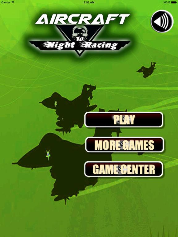 Aircraft To Night Racing Pro - Fly Race Game screenshot 6