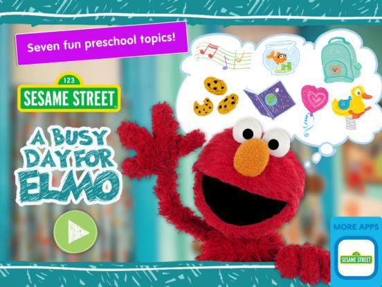 A Busy Day for Elmo: Sesame Street Video Calls screenshot 6
