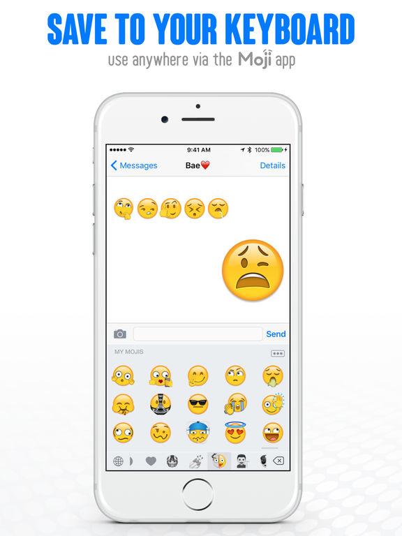 Moji Maker™   Emoji & Avatar screenshot 10