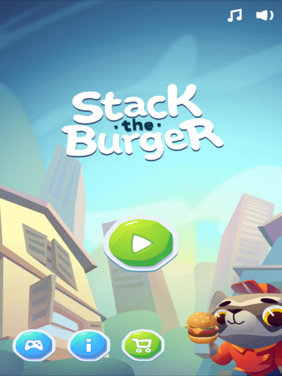 Stack the Burger [food raining edition] screenshot 6