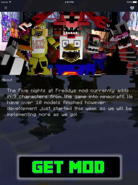 FNAF MOD FOR MINECRAFT PC EDITION - MODS WIKI | Apps | 148Apps