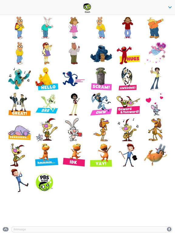 PBS KIDS Stickers screenshot 5