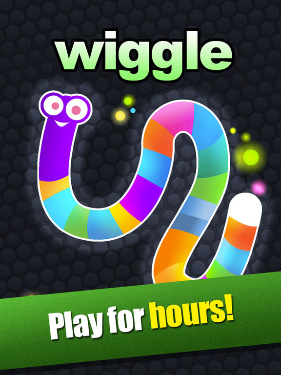 Crazy Wiggle.Io - Glowing Slither Unlocked Version screenshot 5