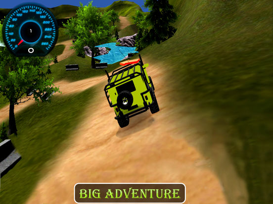 New Off-Road Jeep Drive : Top Mountain Hill Driver screenshot 4