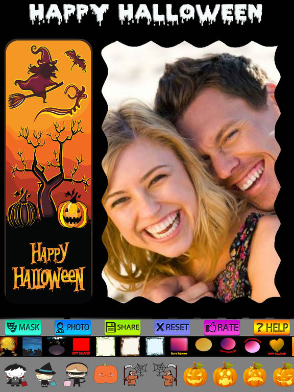 Halloween Cards and Photo Frames screenshot 10