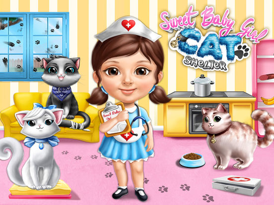 Sweet Baby Girl Cat Shelter – Pet Vet Doctor Care screenshot 6