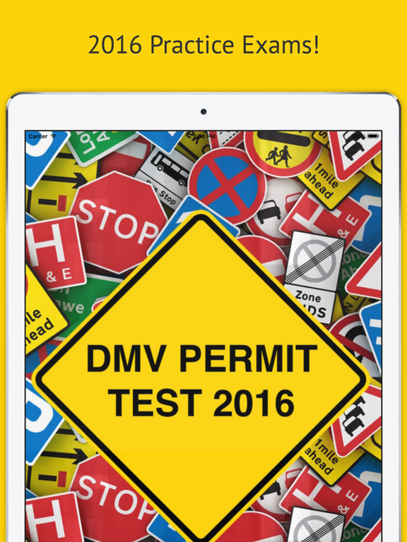 DMV Permit Test 2016 - Practice Exams for Every State! screenshot 4