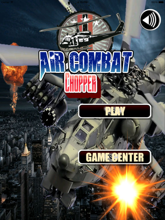 Air Combat Chopper - Game Explosions At High Speed screenshot 6