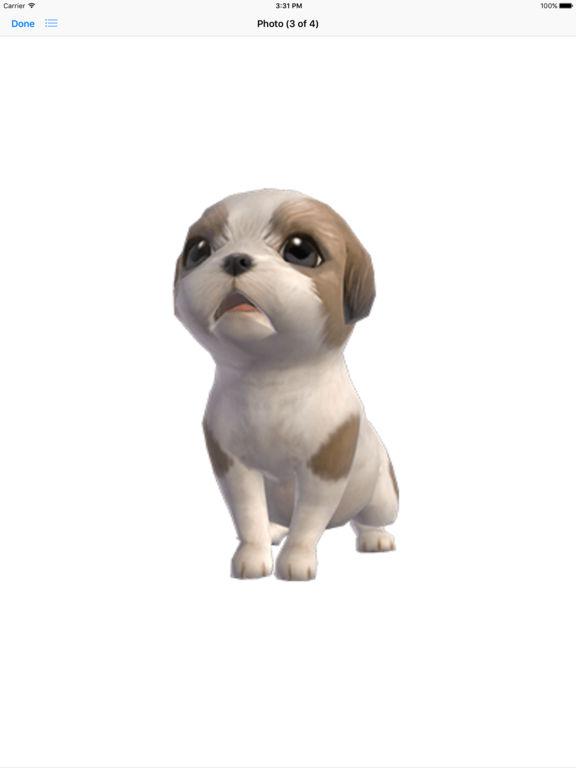 Shih Tzu - Animated Puppy Stickers screenshot 10