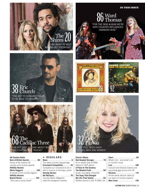 Country Music Magazine screenshot 9
