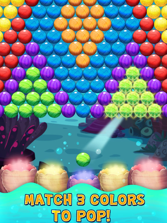 Bubble Shooter Underwater World screenshot 7
