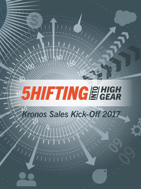Kronos Sales Kick-Off 2017 screenshot 4