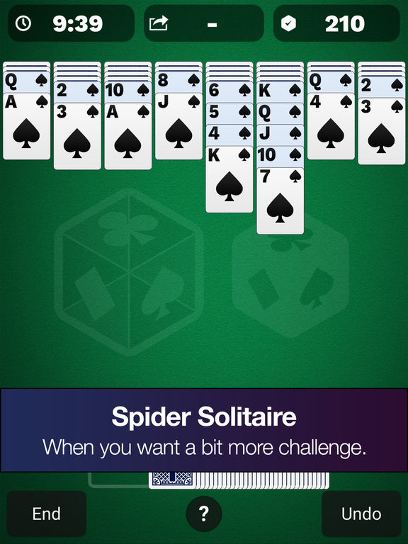 Solitaire Cube Free - Classic, Spider and Freecell screenshot 8