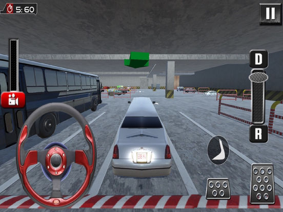 Real Limousine Parking : City Driv-e Sim-ulator screenshot 5