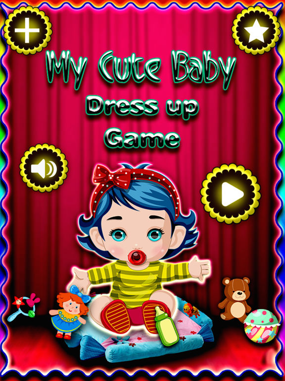 My cute baby dress up game - new dress up style for girls and boys screenshot 6