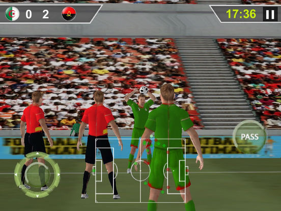Real Flick Football : Pen-alty Soc-cer hero-es screenshot 7