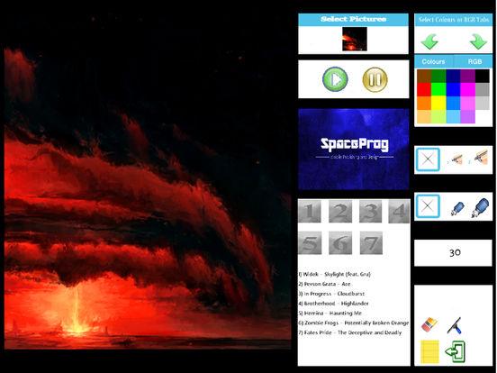 Oceanic Prog (Progressive Metal/Rock/Djent Album and Coloring) Side 1 screenshot 7