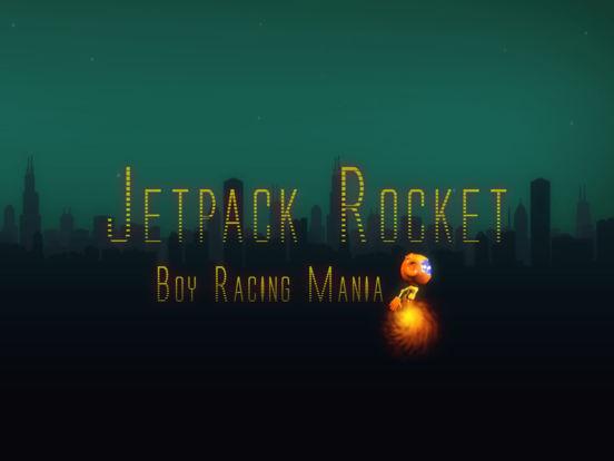 Jetpack Rocket Boy Racing Pro - air flying game screenshot 3