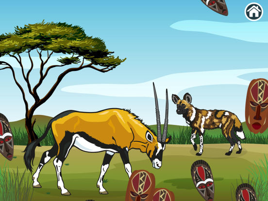Connect Dots Africa  - Learning Game screenshot 10