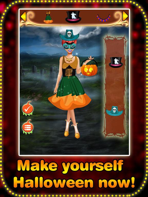 Halloween dress up game - Real Halloween girls screenshot 10