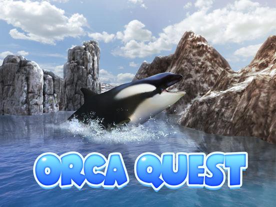 Ocean Whale Orca Simulator: Animal Quest 3D screenshot 5