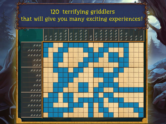 Fill and Cross. Trick or Treat 3! screenshot 8