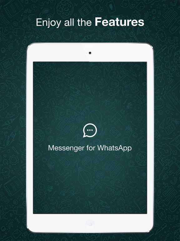 Messenger for WhatsApp for iPad screenshot #5