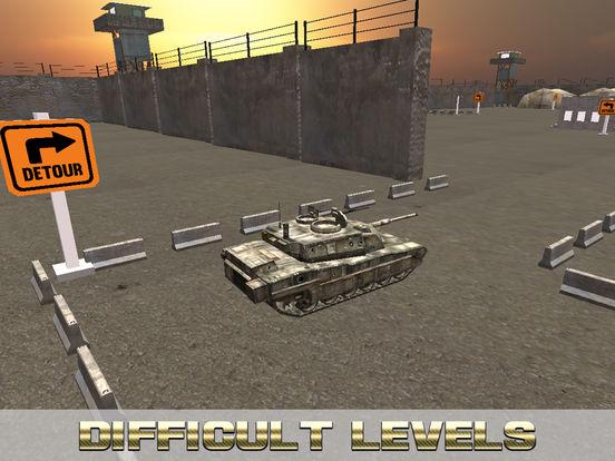 Military Tank Real Parking screenshot 9