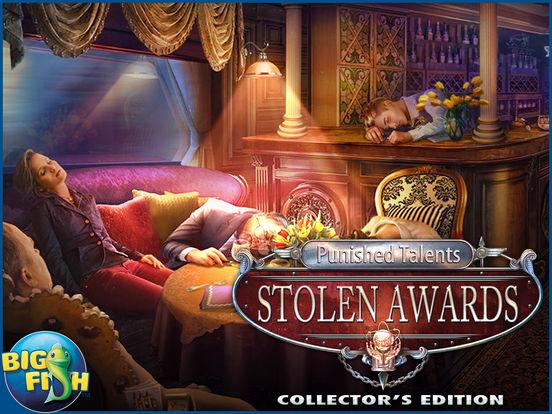 Punished Talents: Stolen Awards HD - A Mystery Hidden Object Game (Full) screenshot 5