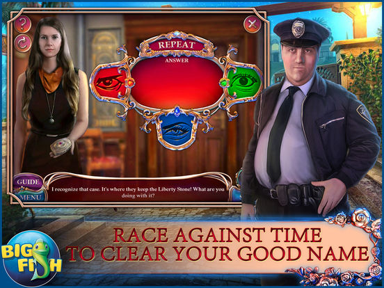 Off the Record: Liberty Stone - A Mystery Hidden Object Game (Full) screenshot 8