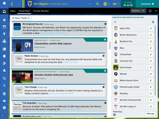 Football Manager Touch 2017 screenshot 5