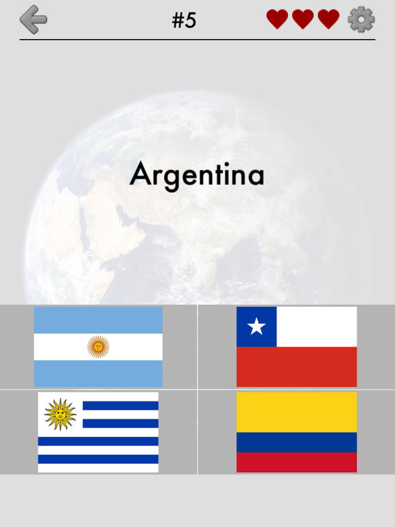 Flags of All World Continents screenshot 6