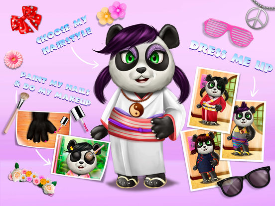 Cute Panda Village - Fashion, Care & Clean Up screenshot 6