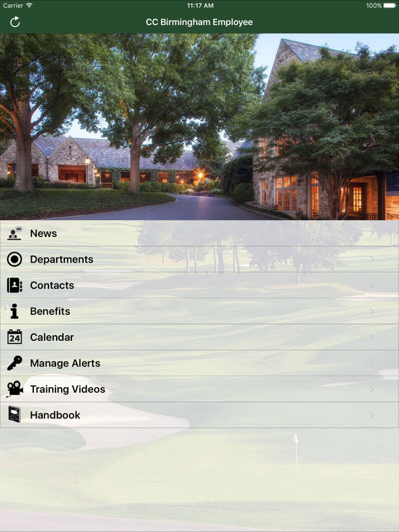 Country Club of Birmingham Employee screenshot 4