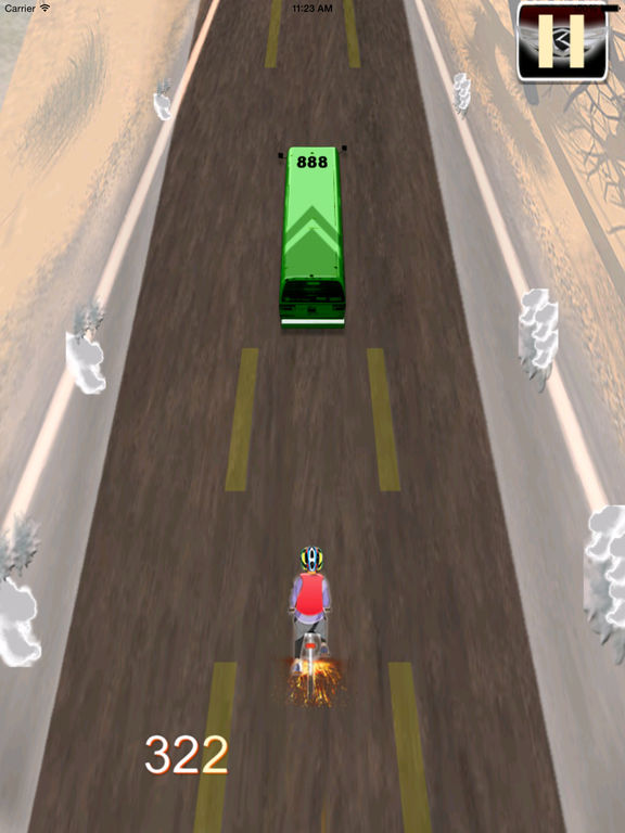 A Road Cycling Runner - A Xtreme Adrenaline screenshot 7