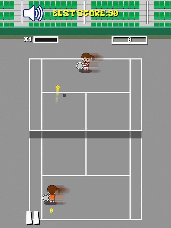 Retro Tiny Tennis screenshot 7