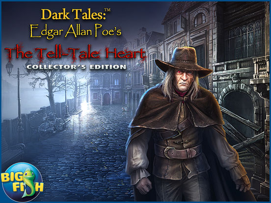 Dark Tales: Edgar Allan Poe's The Tell-tale Heart - A Hidden Object Mystery (Full) screenshot 10