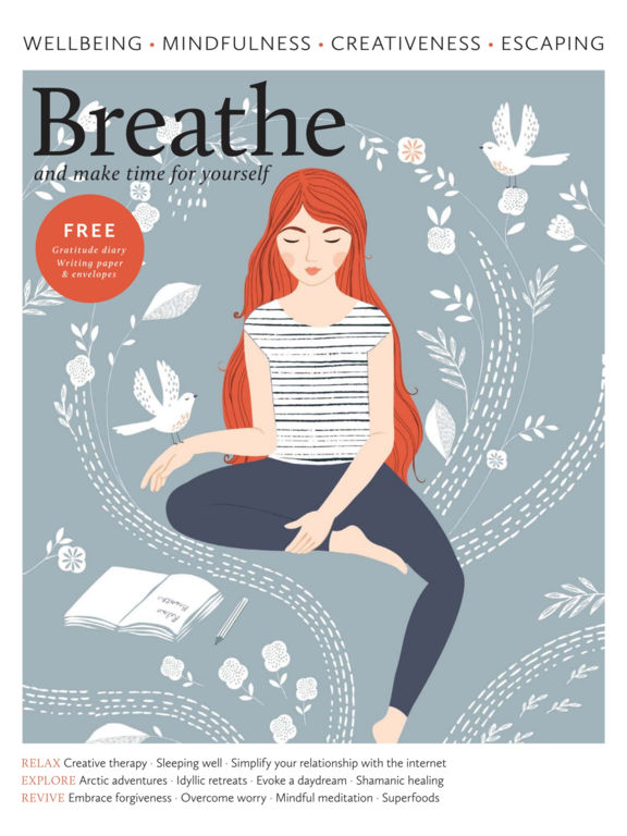 Breathe Magazine. screenshot 6