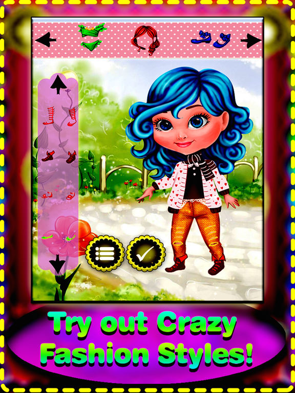 My cute baby dress up game - new dress up style for girls and boys screenshot 7