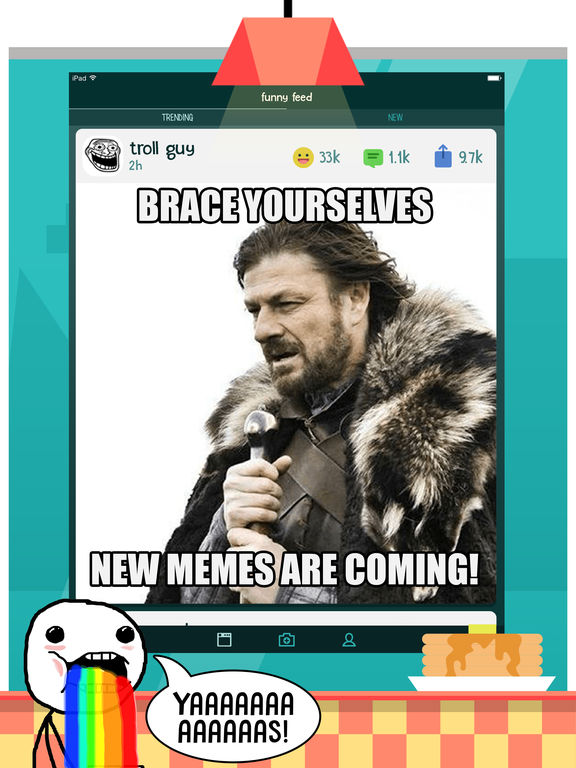 Funny Feed: Meme Generator App screenshot 6