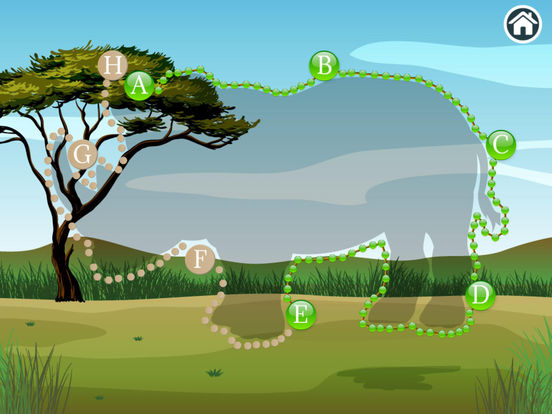 Connect Dots Africa  - Learning Game screenshot 9