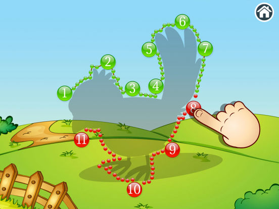 Animal Farm Points - Preschool Games screenshot 9