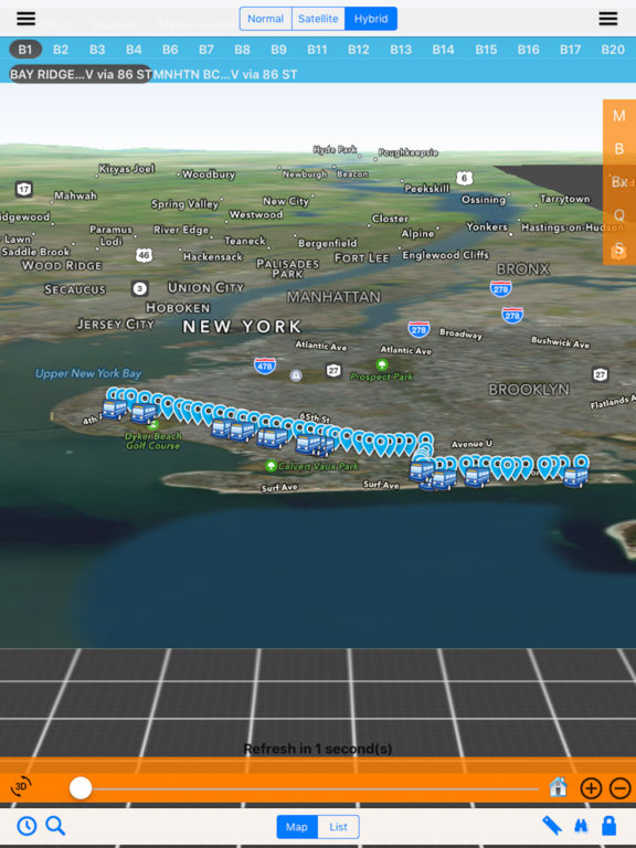 NYC Bus in 3D City View screenshot 8