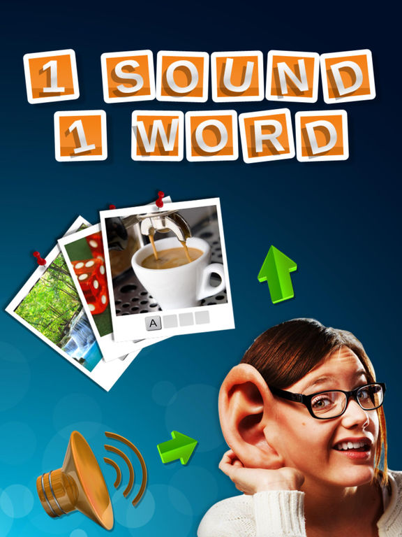 1 Sound 1 Word - Hear the sound and guess the word (Premium) screenshot 4