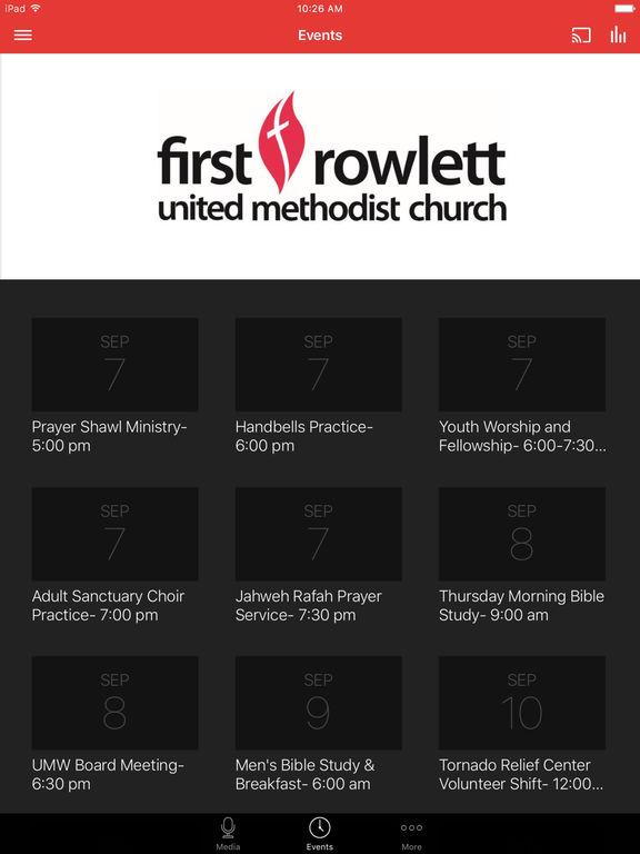 First Rowlett UMC screenshot 5