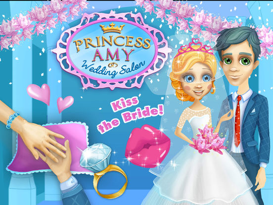 Princess Amy Wedding Salon 2 - No Ads screenshot 6